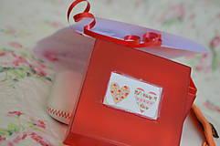 Krabičky - Krabička- srdiečko - 9221140_