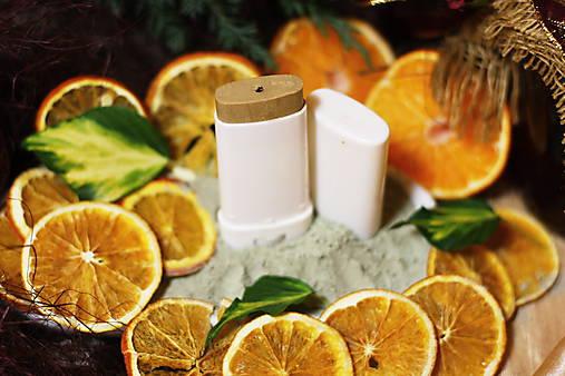 POMERANČ*LIMETKA*MANDARINKA - prírodný deodorant
