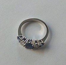 Prstene - Prsten z bílého zlata 585/1000. - 9220691_