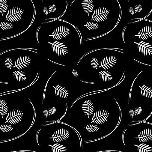 Materiál ručne robený - Čierna & Biela - Slavnostné v čiernej (popelín) - 9221003_