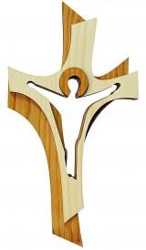 Dekorácie - Skladaný krížik 2 - 9219697_