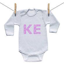 Detské oblečenie - Originálne body KE (Košice) (Ružová) - 9222217_