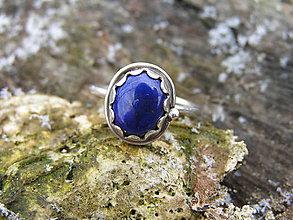 Prstene - Strieborny prsteň Ag 925 Lapis Lazuli - 9220914_