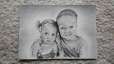 Kresby - Portrét z fotky - 9220772_