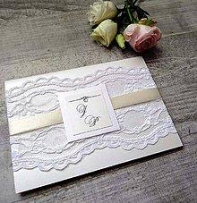 Papiernictvo - svadobné oznámenie 303 - 9223470_