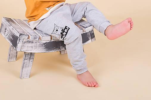 5fb36e7d8 Pudlové tepláčiky UNI / HUHU.huhu - SAShE.sk - Handmade Detské oblečenie