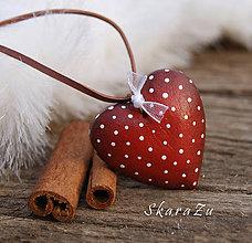 Náhrdelníky - Little Heart dots / 3D - 9222582_