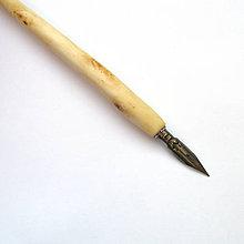 Papiernictvo - Vŕbové kaligrafické pierko - 9220069_