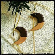 Dekorácie - FIMO vianočné medovníky (mesiačiky) - 9220291_