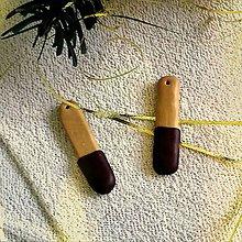 Dekorácie - FIMO vianočné medovníky (polomáčané tyčinky) - 9220837_