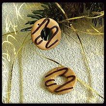 Dekorácie - FIMO vianočné medovníky (donuty) - 9221500_