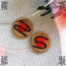 Dekorácie - FIMO vianočné medovníky (kolieska s džemom) - 9223359_