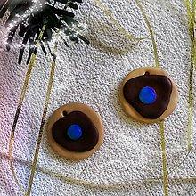 Dekorácie - FIMO vianočné medovníky (vianočné kolieska s lentilkou) - 9223591_