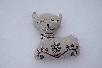 Dekorácie - Mačka - 9226990_