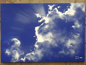 Obrazy - Do neba (NAMAĽOVANÉ!!!) - 9225356_