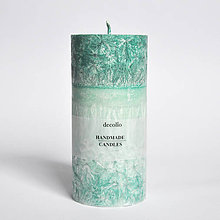 Svietidlá a sviečky - Mätová sviečka Ø65 - 9225219_