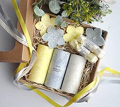 Svietidlá a sviečky - Orchidée - darčeková krabica veľká - 9225330_