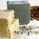 Drogéria - aktívne uhlie a včelí vosk - prírodné mydlo - 9224317_