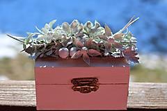 Krabičky - Krabička na prstienky - 9224129_