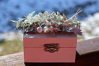 Krabičky - Krabička na prstienky - 9224126_