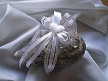 Pierka - pierko srdiečko-strieborné pre ženícha - 9227416_