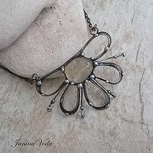 Náhrdelníky - KYRA FLOWER náhrdelník - 9228129_