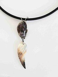 Náhrdelníky - Anjelský amulet...náhrdelník - 9226087_
