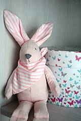 Hračky - Pastelový zajačik Zoe - 9225906_
