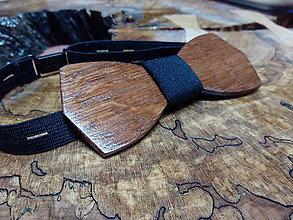 Doplnky - Pánsky drevený motýlik - 9227368_