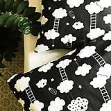 - bavlnené obliečky Mráčiky - 9224155_