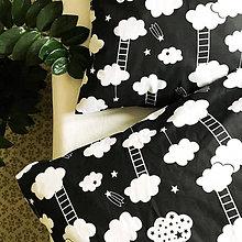 Úžitkový textil - bavlnené obliečky Mráčiky - 9224155_