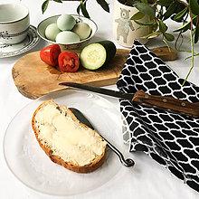 Úžitkový textil - bavlnená utierka Malé Maroko, 40 x 70 cm - 9224162_