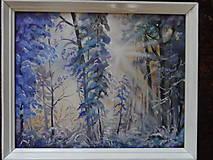 Obrazy - Zima a svitanie - 9224784_