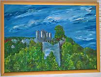 Obrazy - Hrad Modrý Kameň - 9226318_