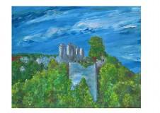 Dekorácie - Hrad Modrý Kameň - reprodukcia - 9226639_