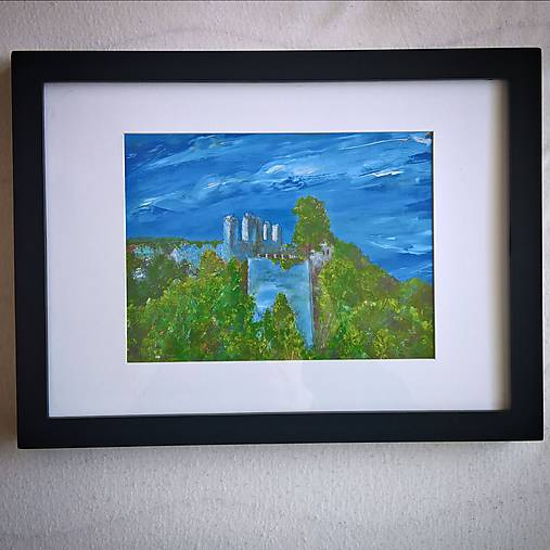 Hrad Modrý Kameň - reprodukcia
