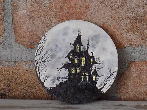 Podložka pod pohár - Haunted house