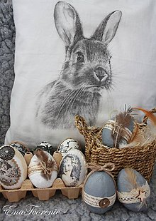 Dekorácie - Vajíčkový MišMaš - 9228774_
