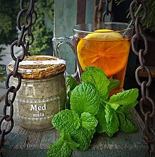 Potraviny - Med s mátou - 9225161_