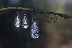 Sady šperkov - Levanduľový set - 9228362_