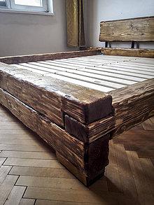 Nábytok - Manželská posteľ - 9228449_