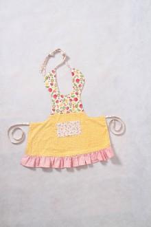 Iné oblečenie - detská zástera s ovocnou tematikou - 9227518_