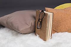 Nezaradené - Korkový obal na knihu - 9225869_