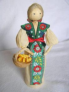 Bábiky - Šúpolienka-s kukuricou - 9226118_