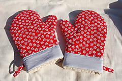 Úžitkový textil - Chňapka kvietok - 9224671_