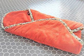 Textil - Jarná fusakozavinovačka do hlbokého kočíka - 9229380_