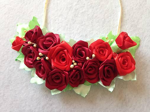 d659d4f43 Náhrdelník z ruží / Alesia8 - SAShE.sk - Handmade Náhrdelníky