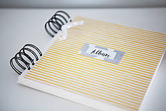 Papiernictvo - Scrapbook album na fotografie - 9233263_
