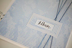 Papiernictvo - Scrapbook album na fotografie  - 9233300_