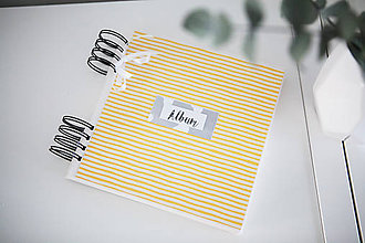 Papiernictvo - Scrapbook album na fotografie - 9233260_